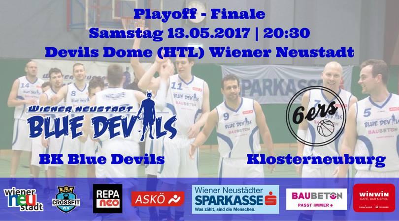2. Playoff - Finale: Blue Devils vs. Klosterneuburg 6ers