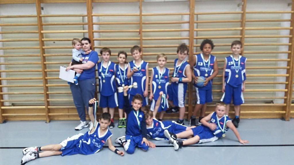 5.Platz beim U10 Turnier in Mödling
